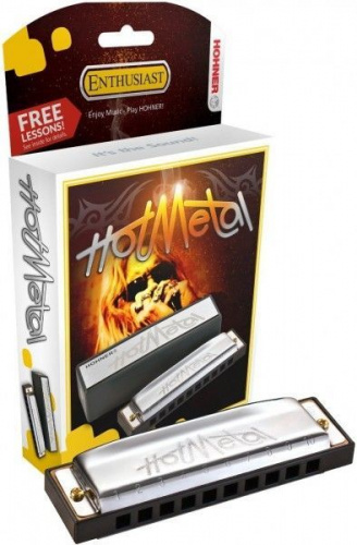Губная гармошка Hohner Hot Metal (M57203x)